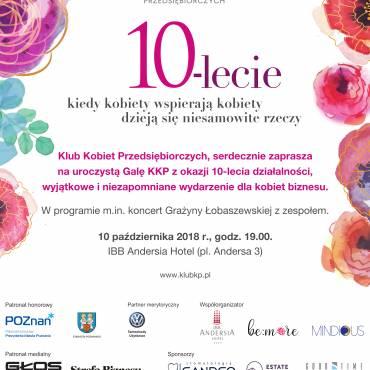 Gala Klubu Kobiet Przedsiębiorczych