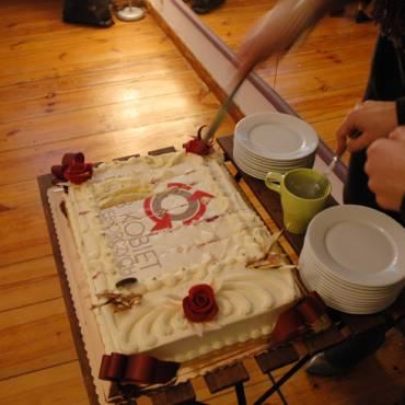 XI – Spotkanie jubileuszowe. (Tort ufundowała cukiernia RÓŻANY POTOK)